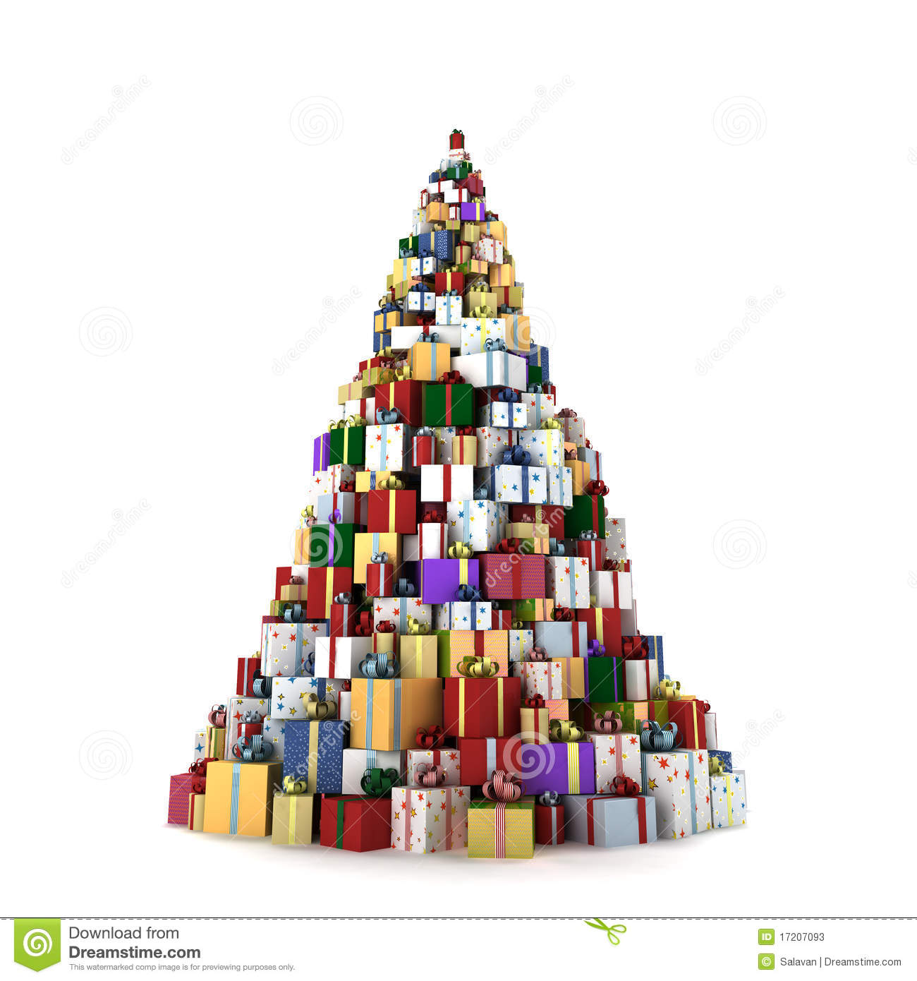 Big mountain of gifts stock photos image 17207093