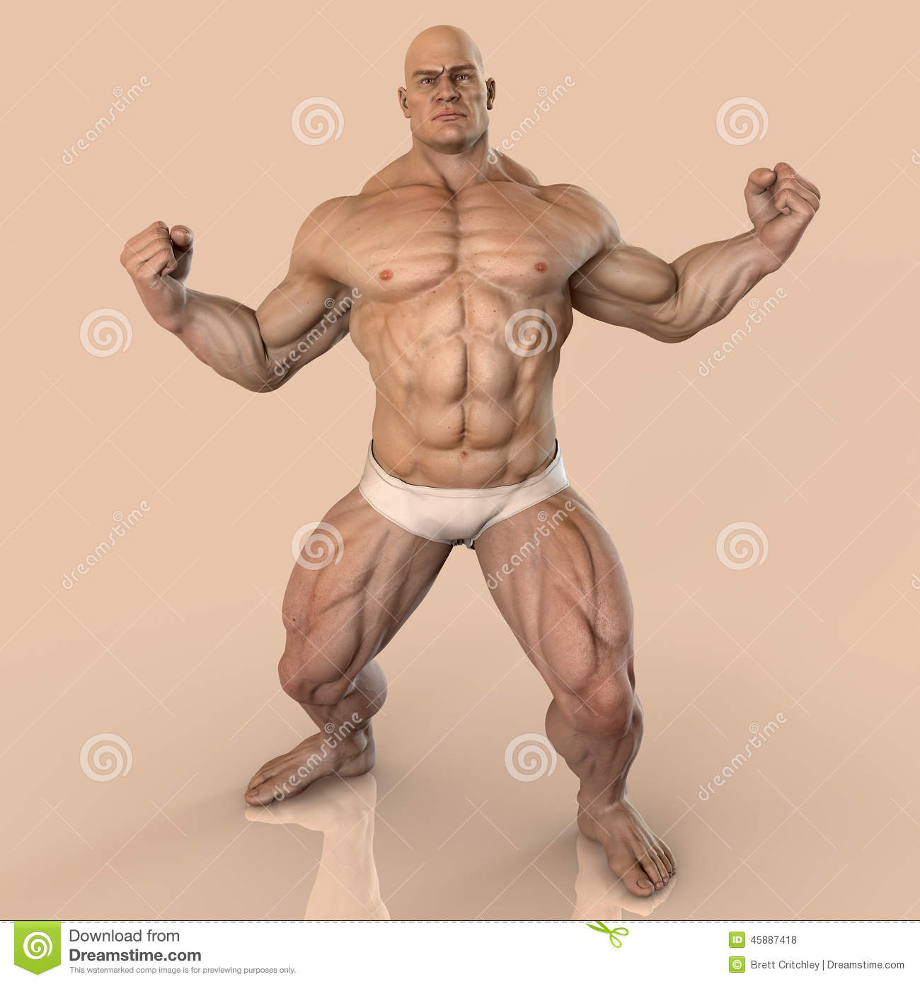 Big gay muscle