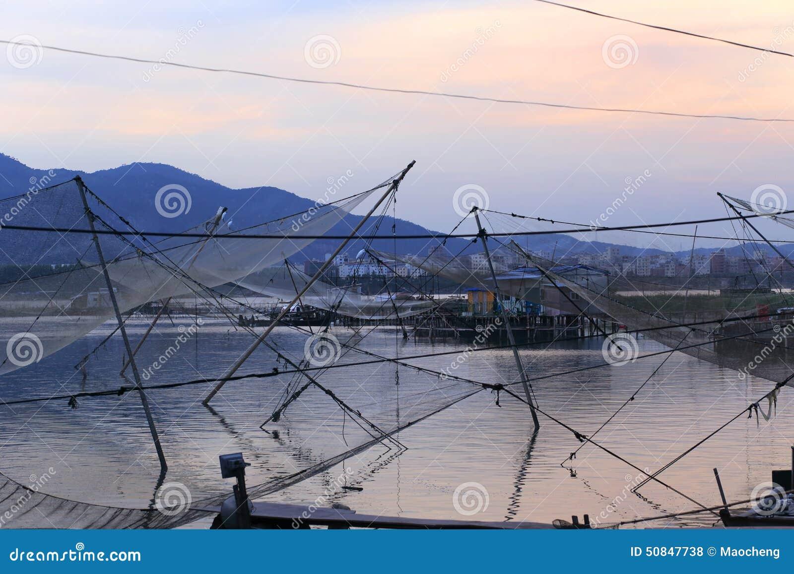 Big net auto salvage fish stock photo image 50847738 for Big fishing net