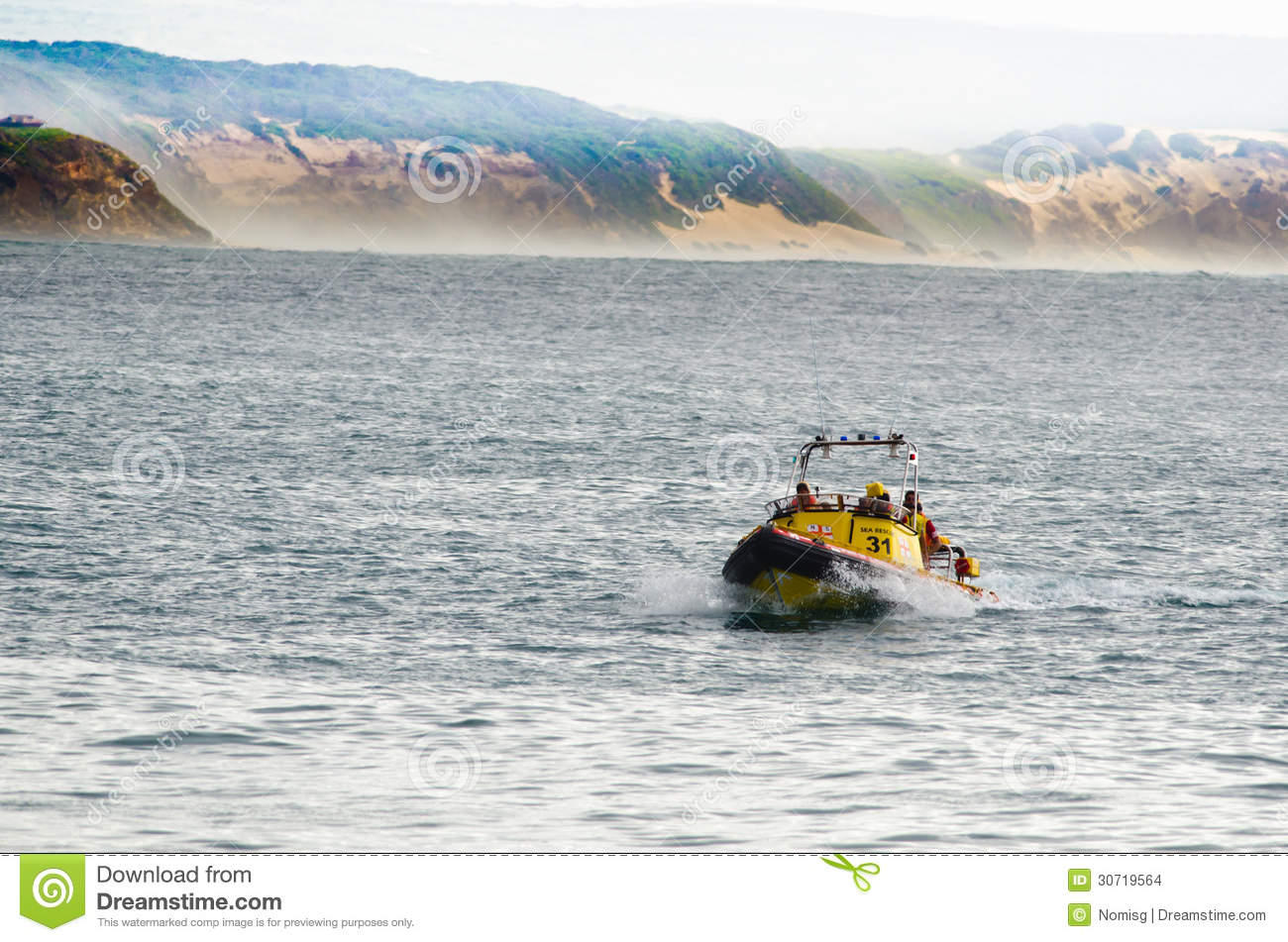 Stilbaai South Africa  city photos gallery : STILBAAI,SOUTH AFRICA DEC. 30: A Sea Rescue boat seen during the ...