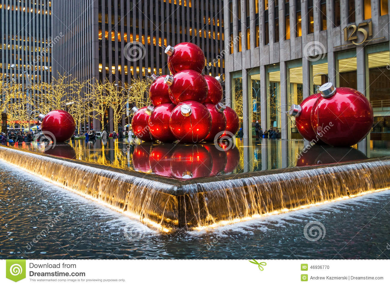 Big Ornaments For Christmas Part  31: Center Christmas Fountain Holidays  Ornaments