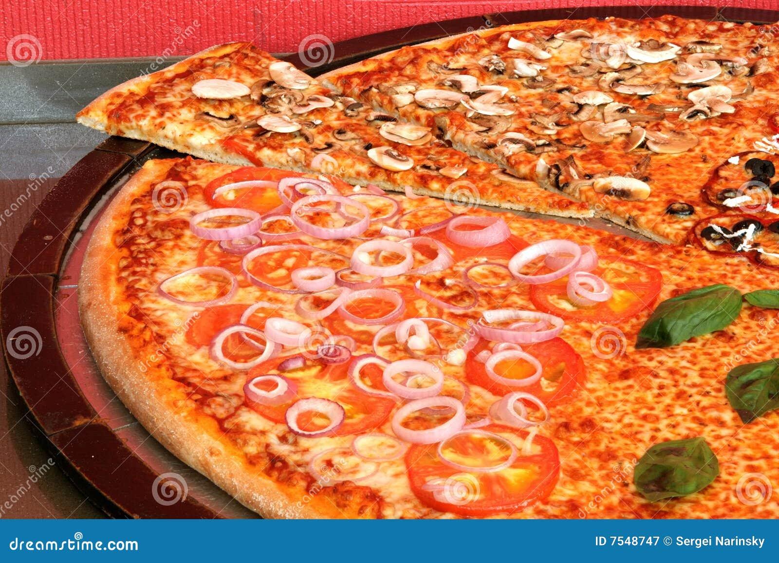 Big pizza royalty free stock photography image 7548747 for Mundo pizza la algaba