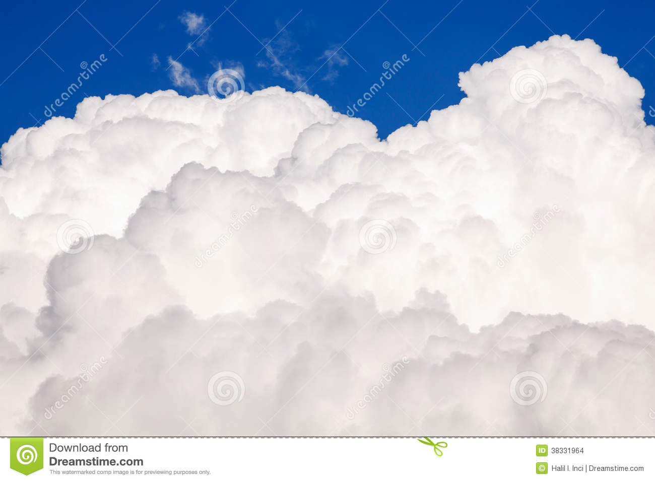 big puffy cloud stock images image 38331964
