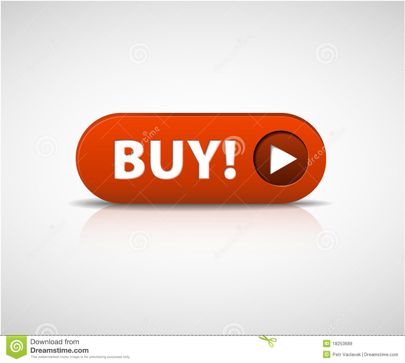 Buy This Now: Big Red Buy Now Button Royalty Free Stock Images