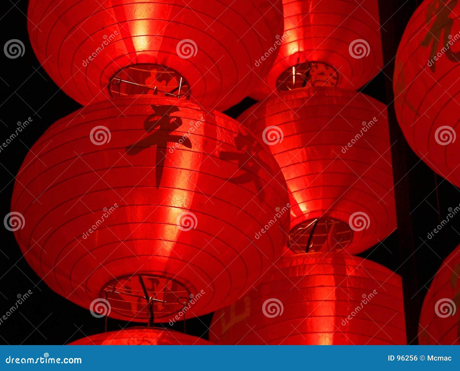 Big Red Lanterns