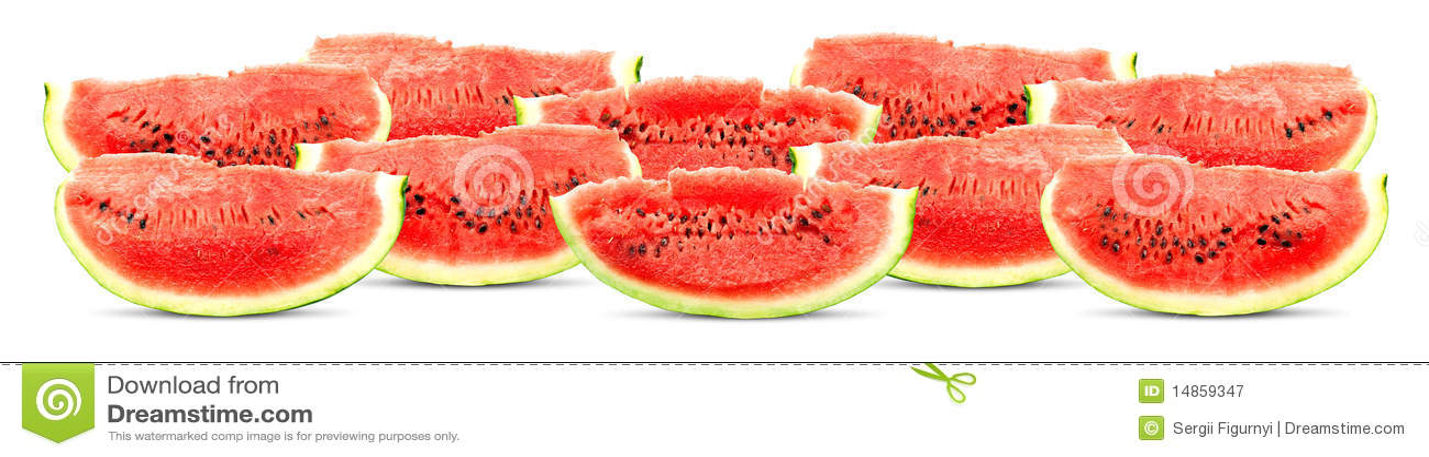 Big red watermelon