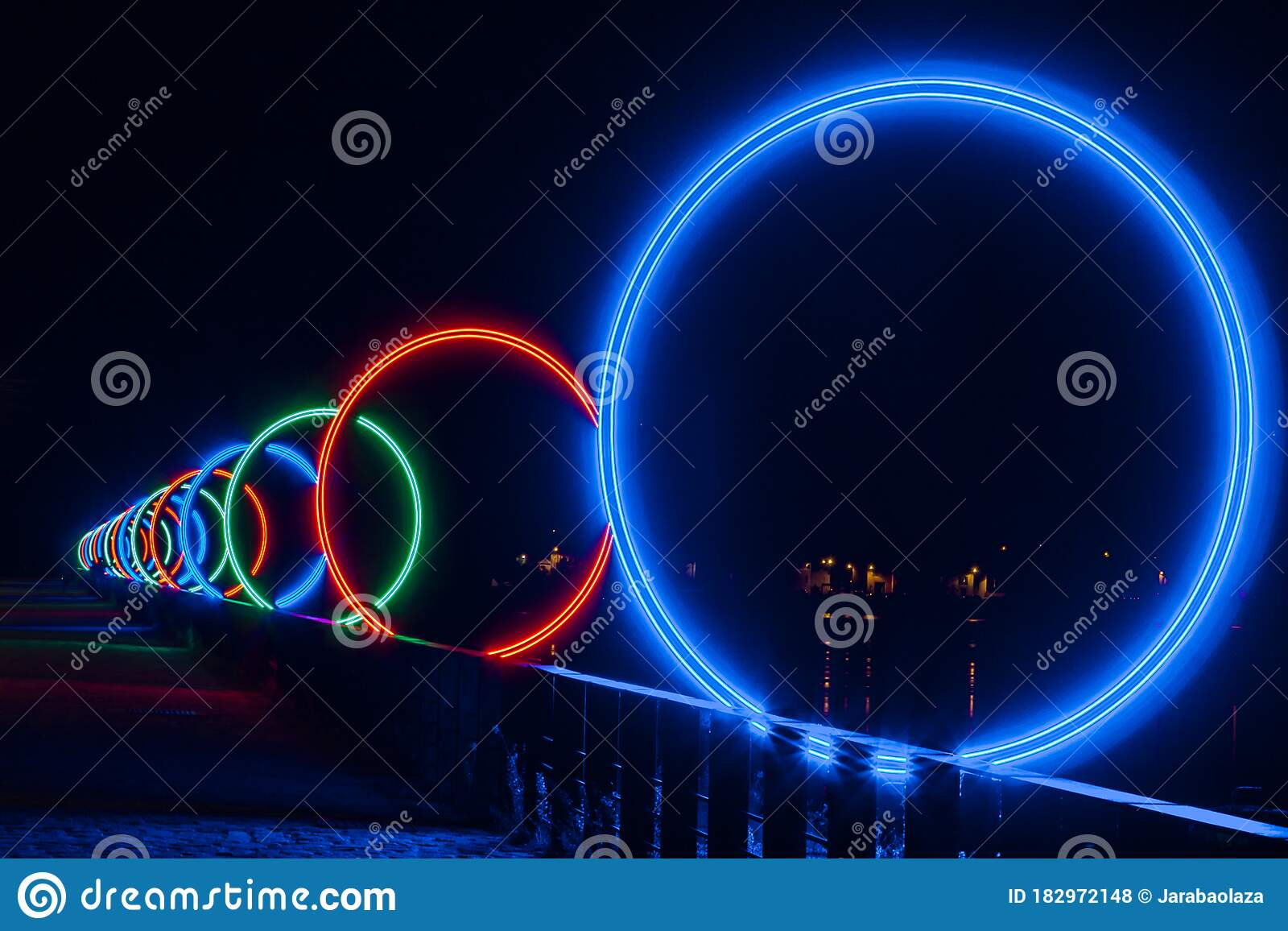 Big Rings In The Islands Of Nantes France Stock Photo Image Of Concept Green 182972148