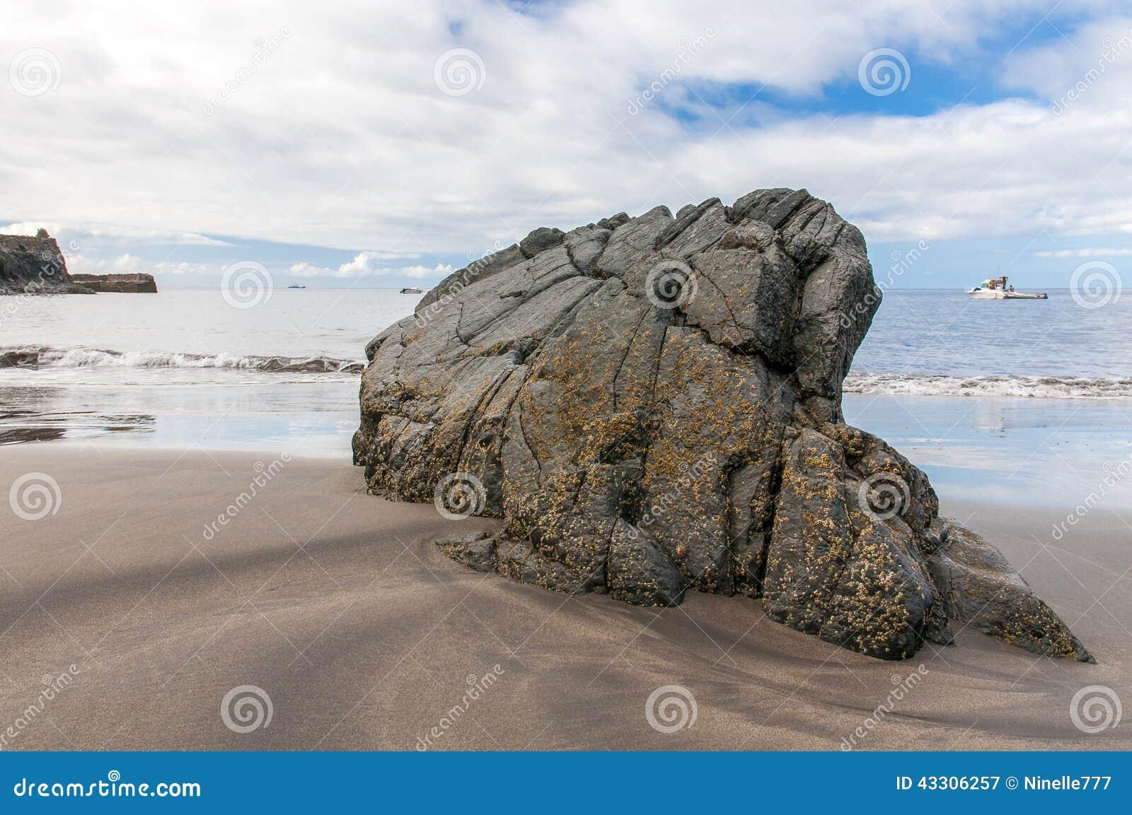 Tenerife Island Black Sand Beach