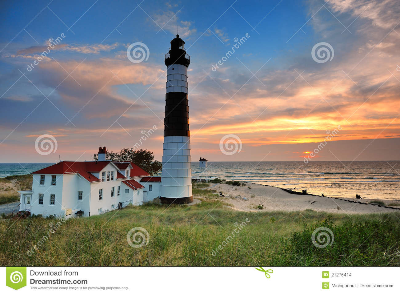 Big Sable Point Lighthouse - Ludington,Michigan