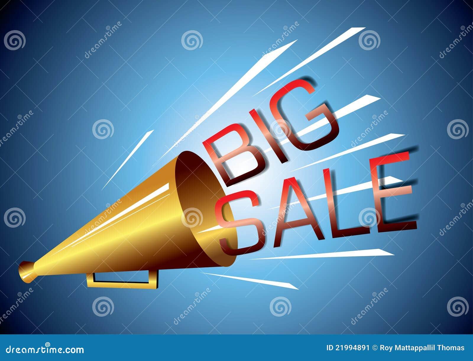 big sale announcement stock image image 21994891