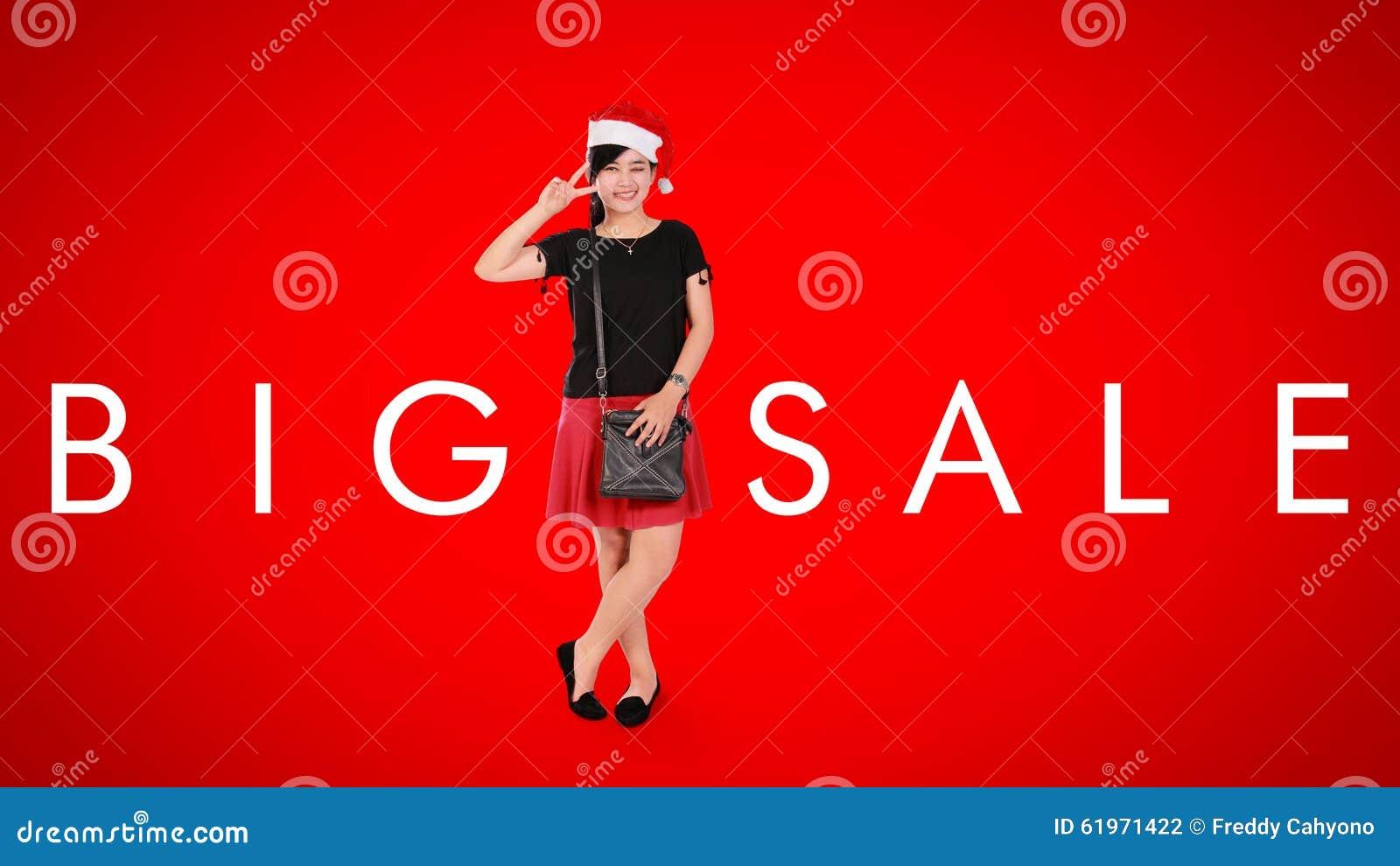 Big sale christmas ad background stock illustration for Minimalist christmas