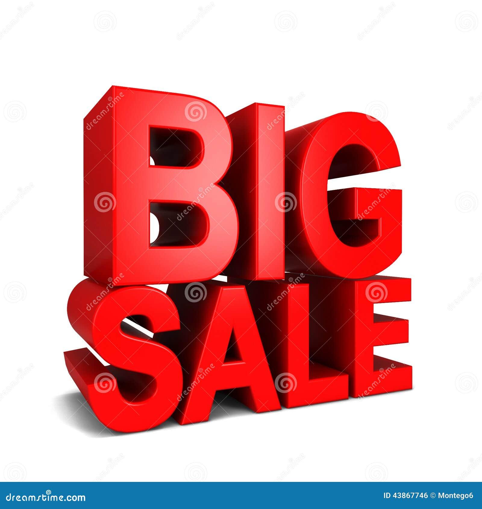 Big Sale Stock Illustration. Illustration Of Commerce