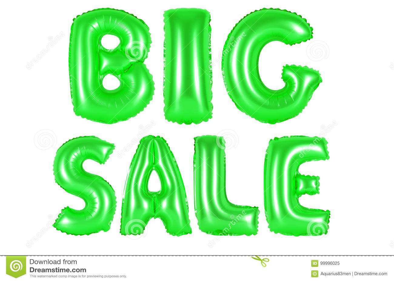 Big sale, green color stock image. Image of design, black - 99996025
