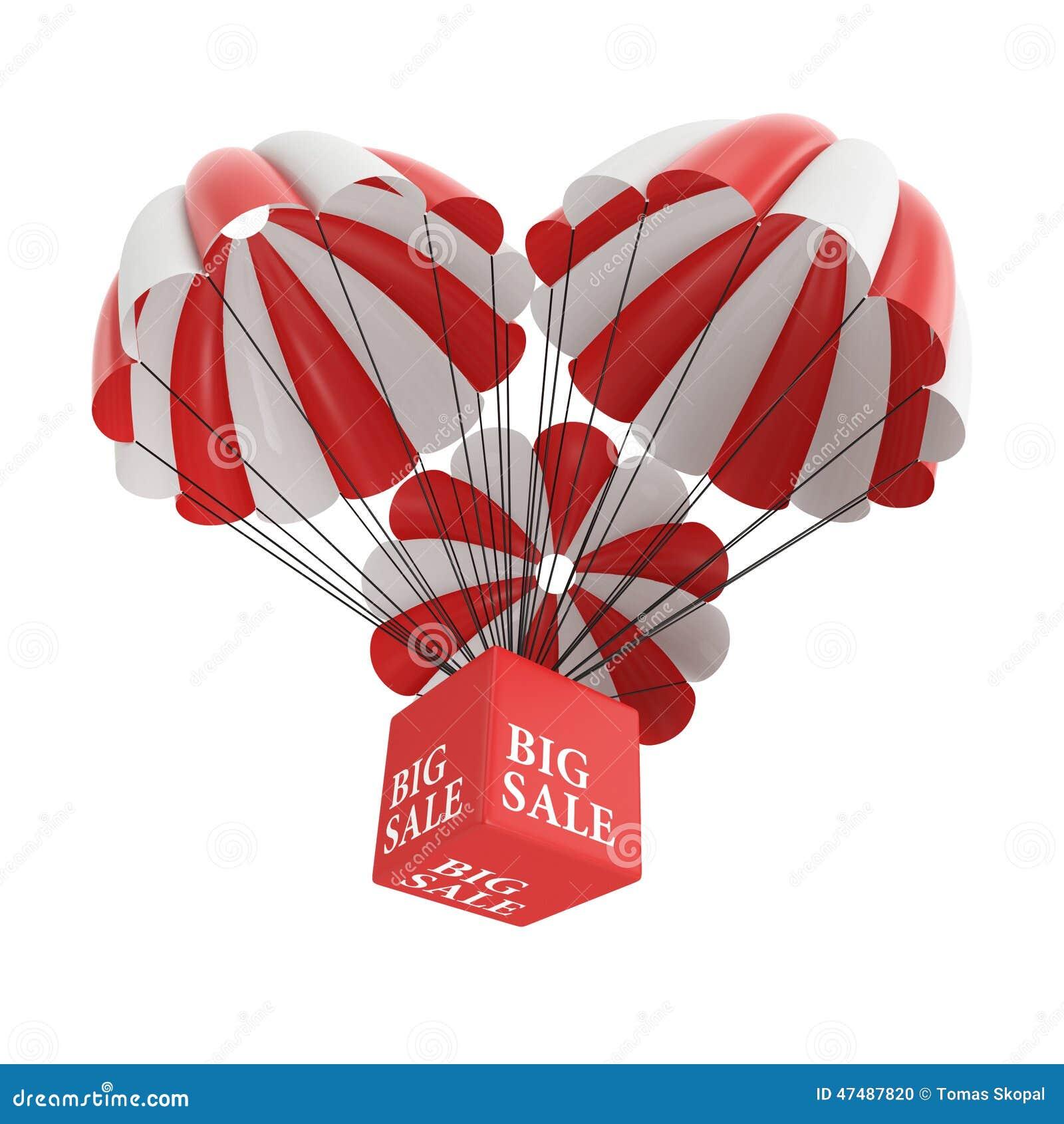 Big sale parachute