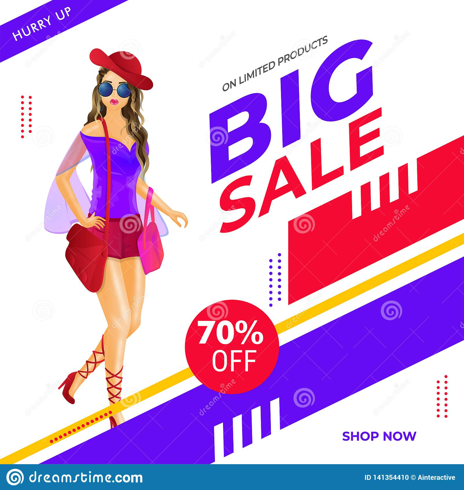 27 Cheap Design Ideas Offering: Big Sale Poster Or Banner Design With 70% Discount Offer