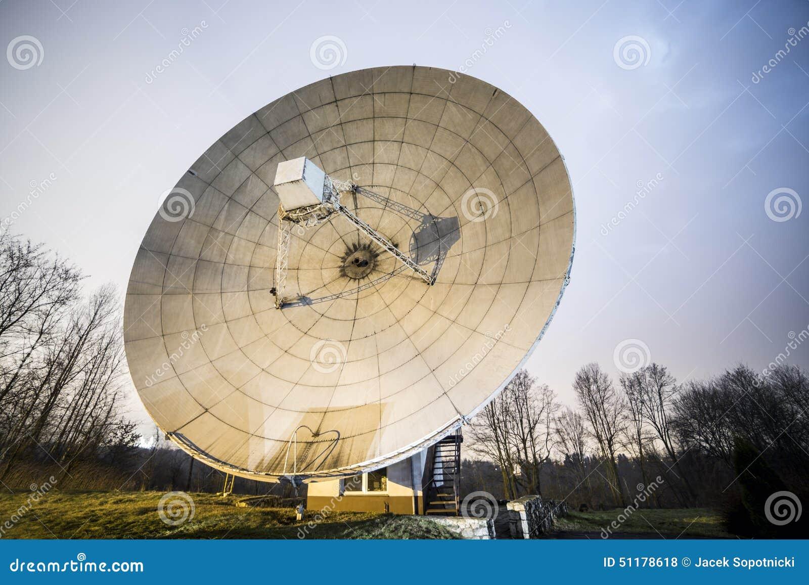 big black satellite dish royalty free stock image image 15363686