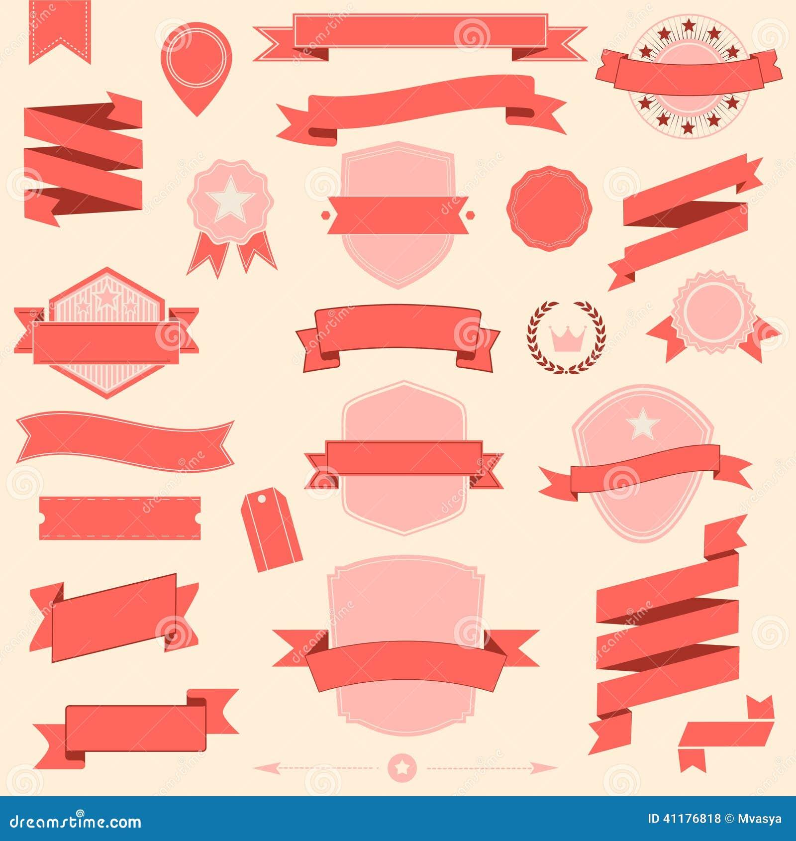 Big Ribbons Stock Illustrations – 1,471 Big Ribbons Stock