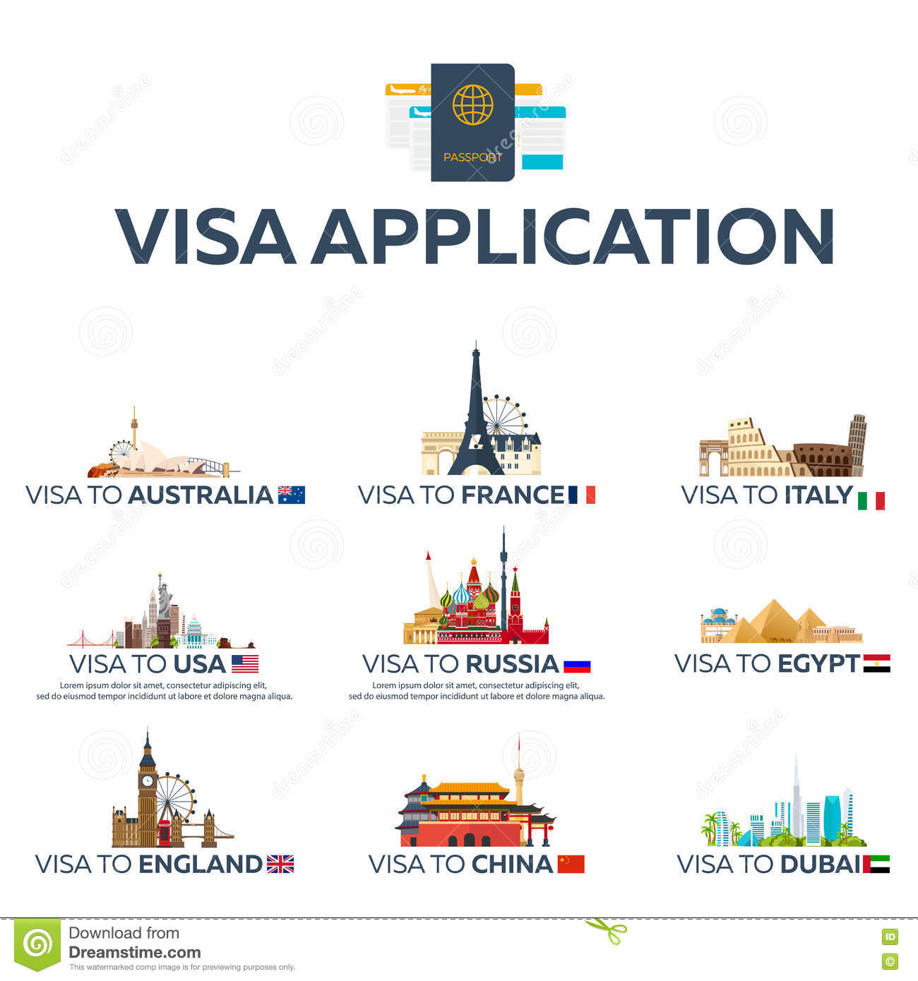 Travelling in USA visa