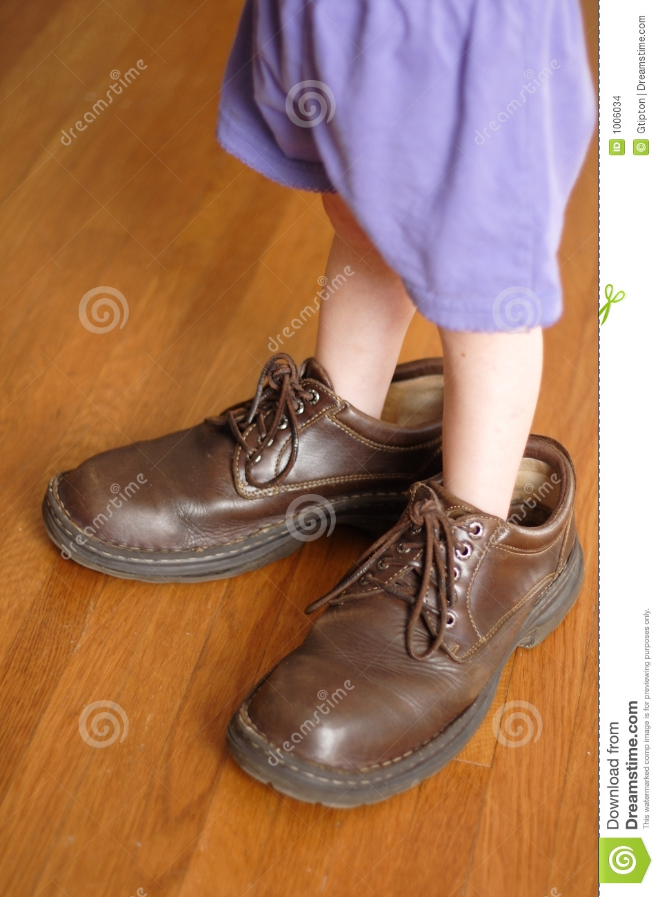 big shoes to fill stock photo image of fill child. Black Bedroom Furniture Sets. Home Design Ideas