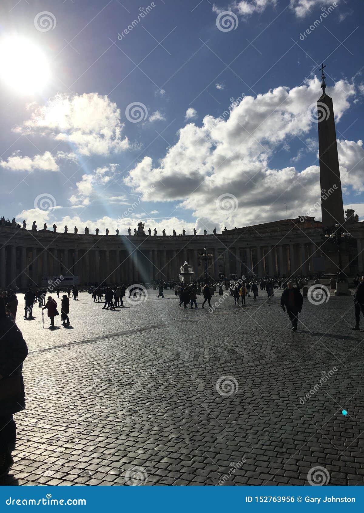 Big sky at the Vatican