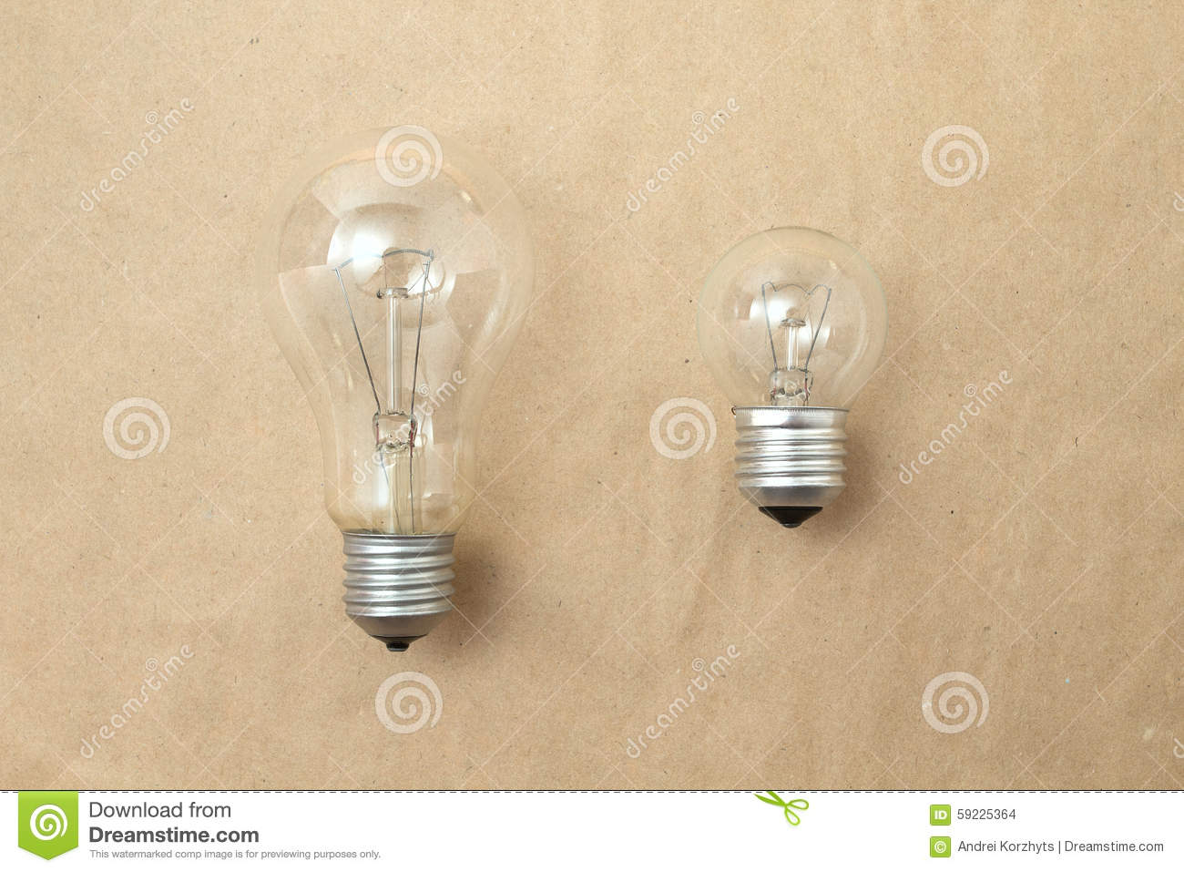 small other comparison bulb sized bulbs edit now photo business or coaching shutterstock training big medium image light and stock