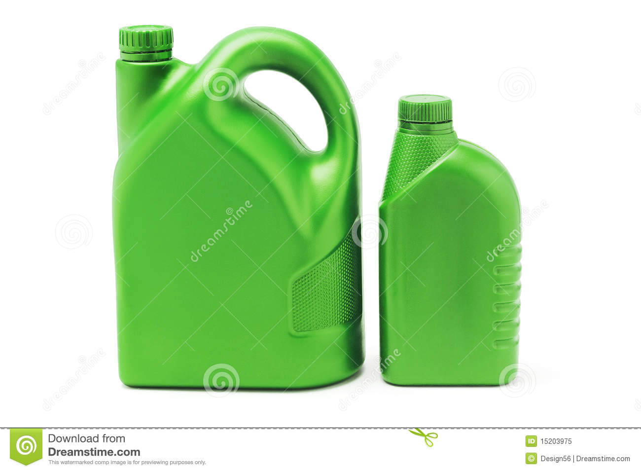 Big and small plastic lubrication oil containers royalty for Recycle motor oil containers