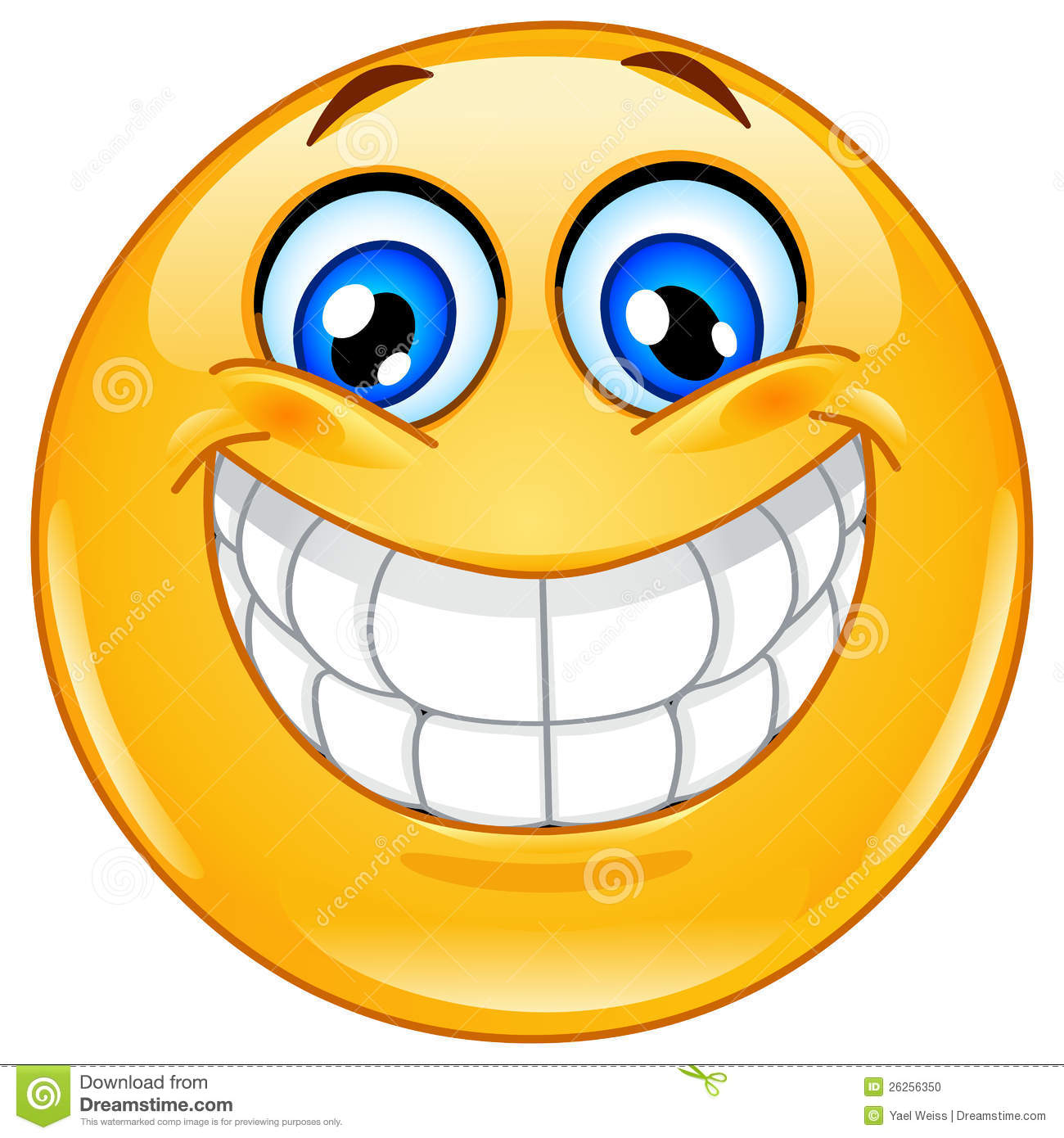 Big Smile Emoticon Stock Photo - Image: 26256350