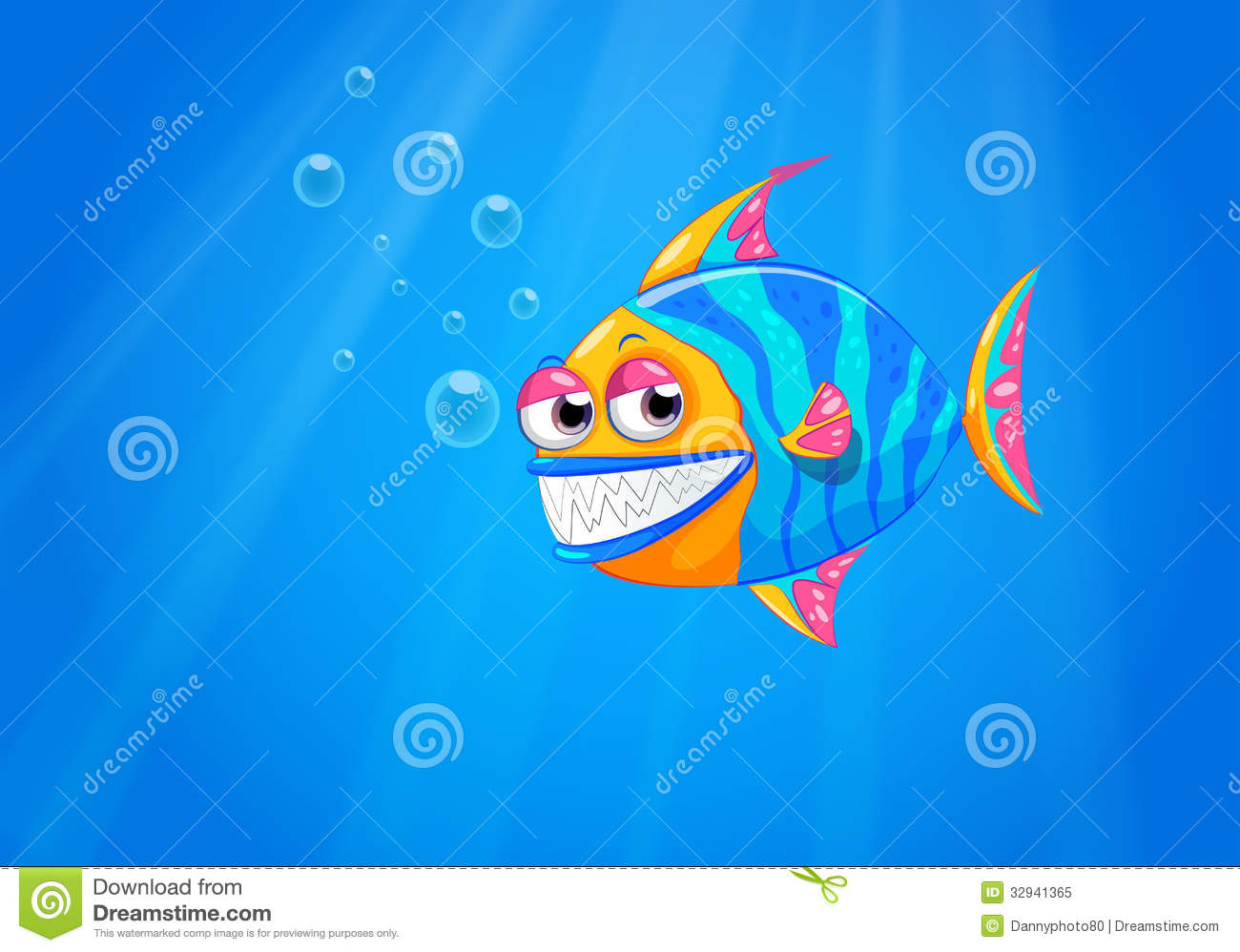 A big smiling fish in the ocean royalty free stock photo for Big fish in the ocean