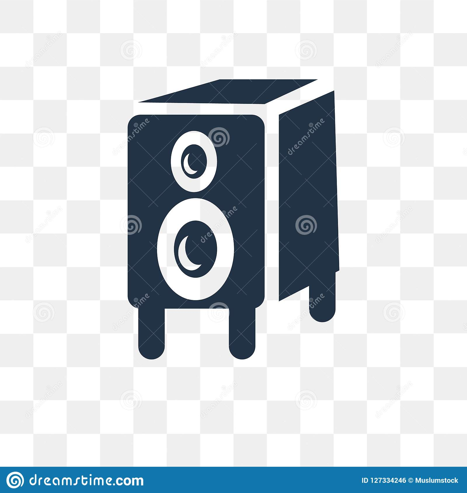 big speaker vector icon isolated on transparent background big stock vector illustration of round sound 127334246 https www dreamstime com big speaker vector icon isolated transparent background transparency concept can be used web mobile image127334246