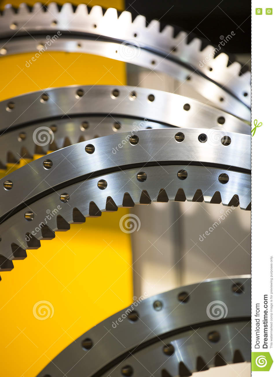 Big steel gear