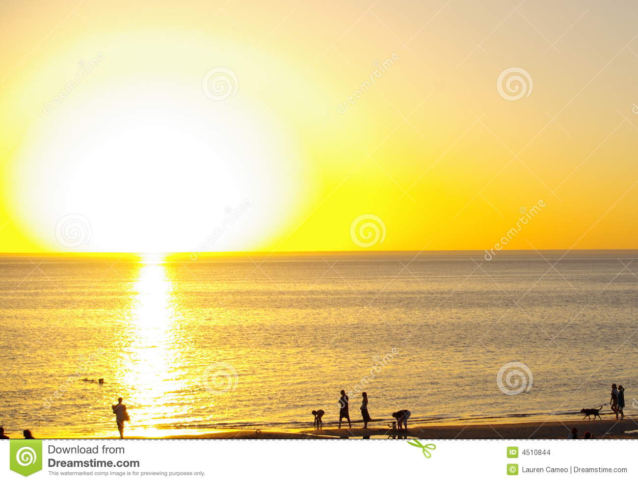 Big Sun, Henley Beach Stock Images - Image: 4510844