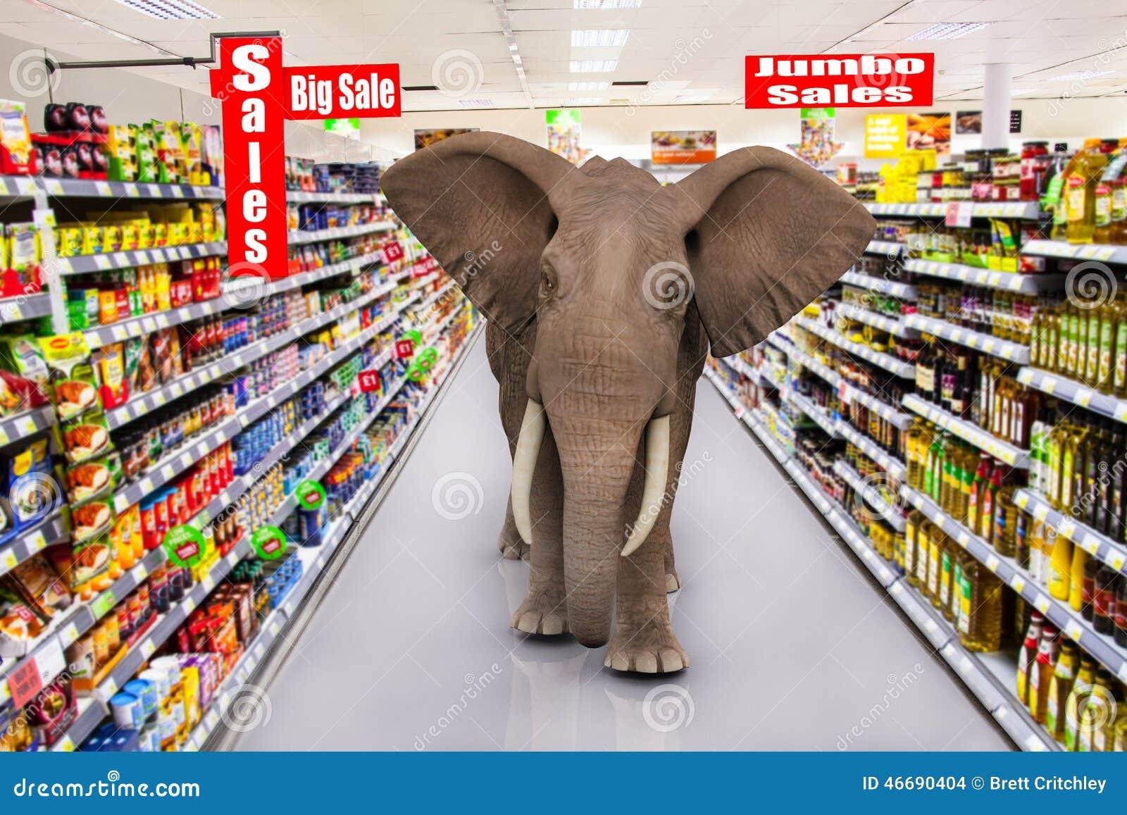 Supermarket Signs