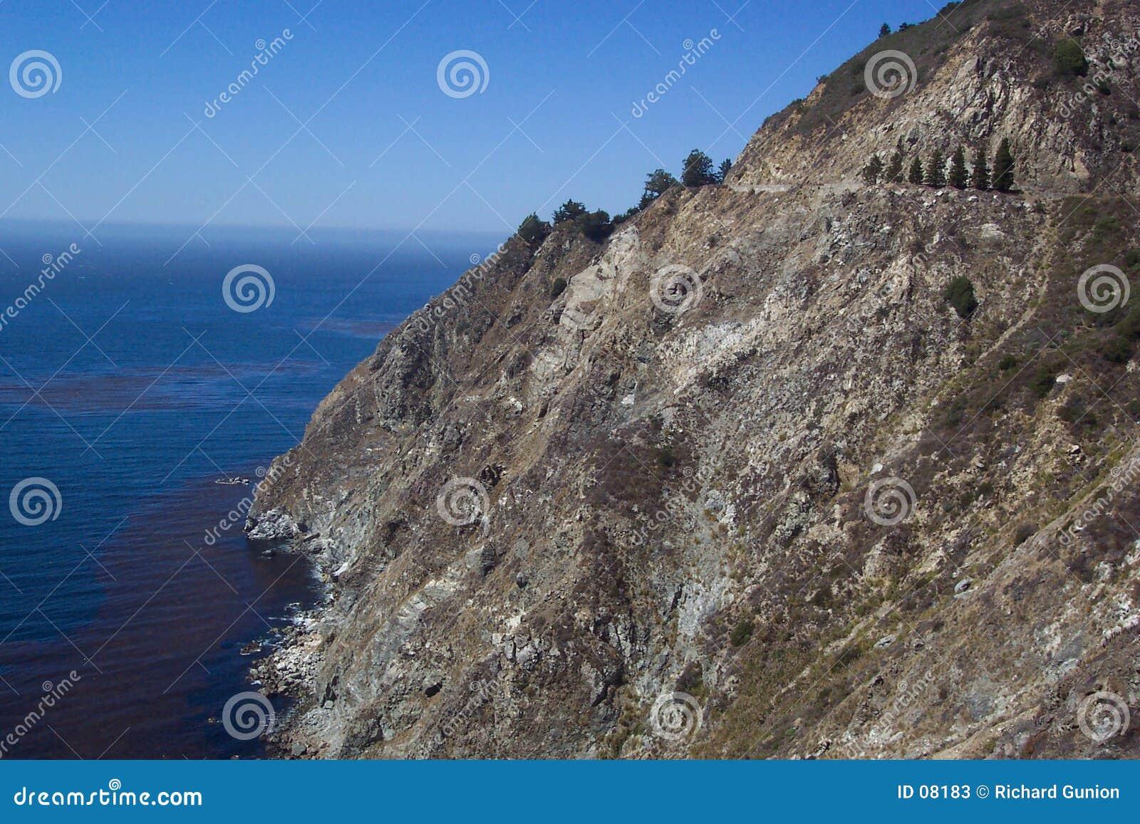 Big Sur Cliff
