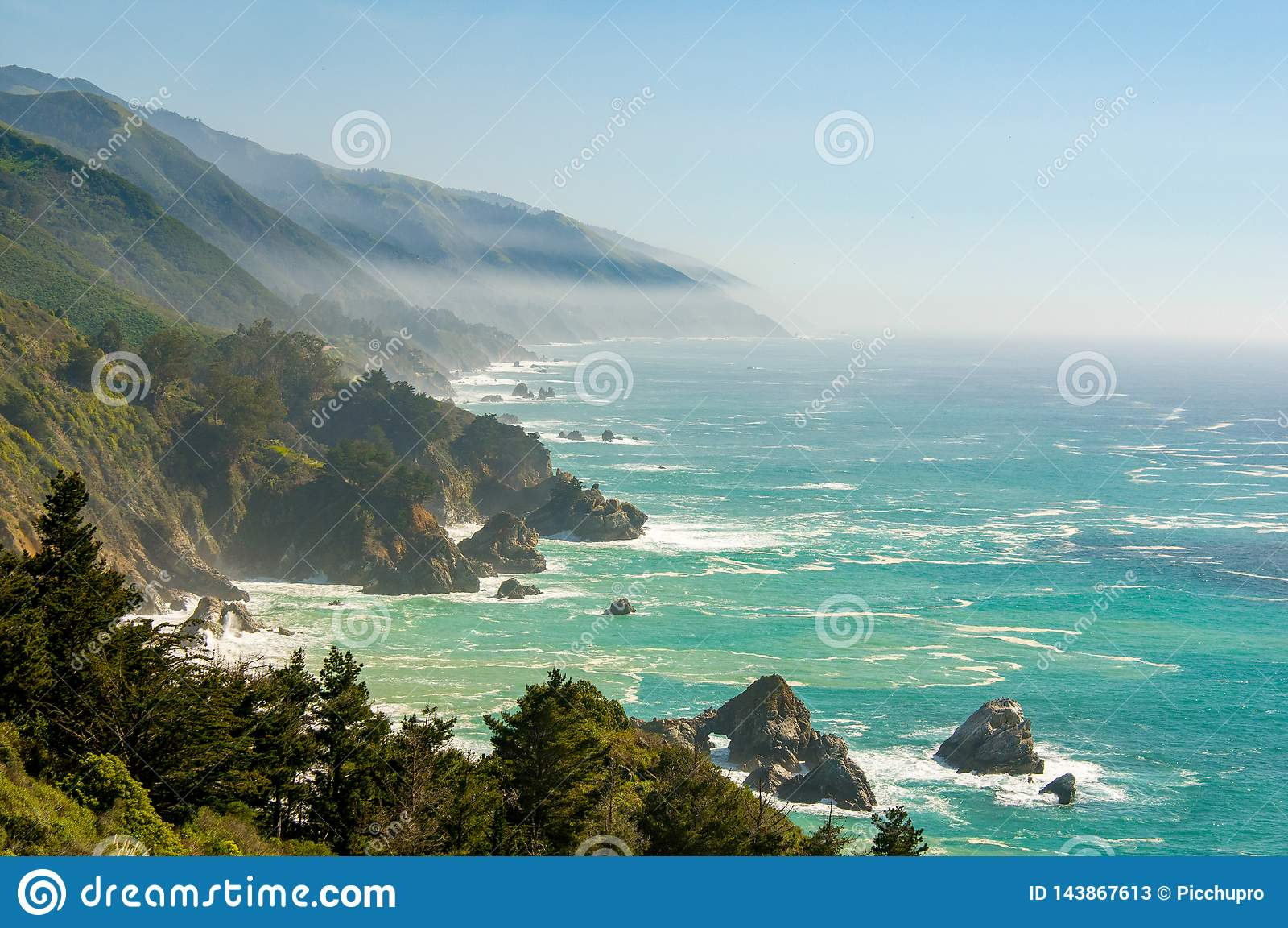 Big Sur la Californie 1