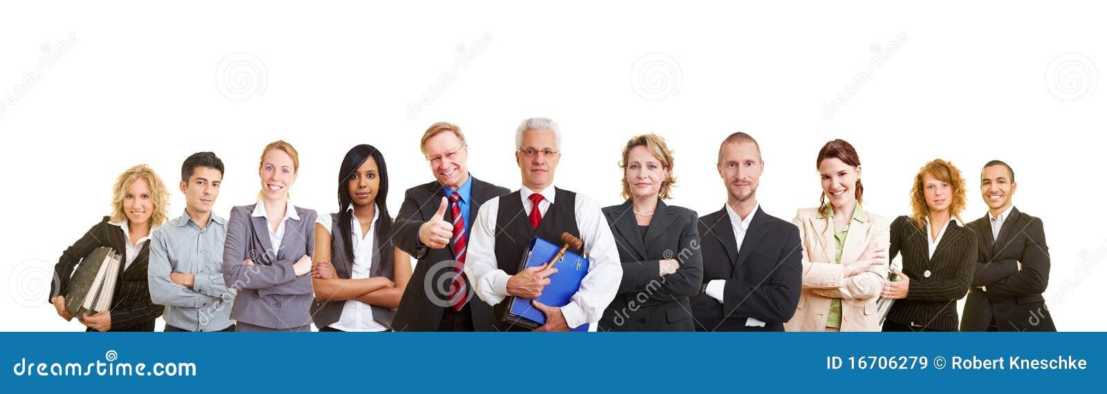Big team of lawyers