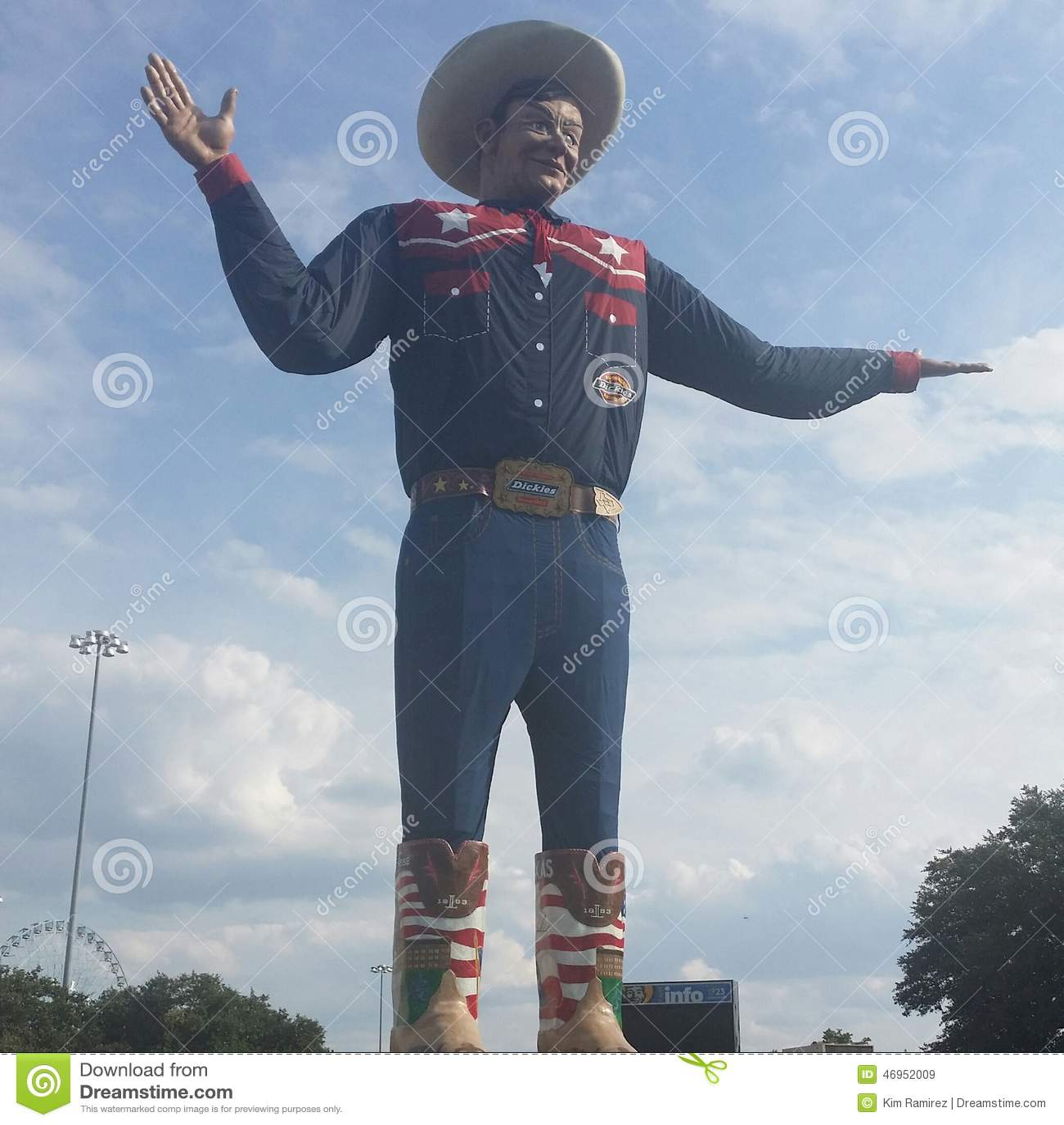 Big Tex. Big in Texas