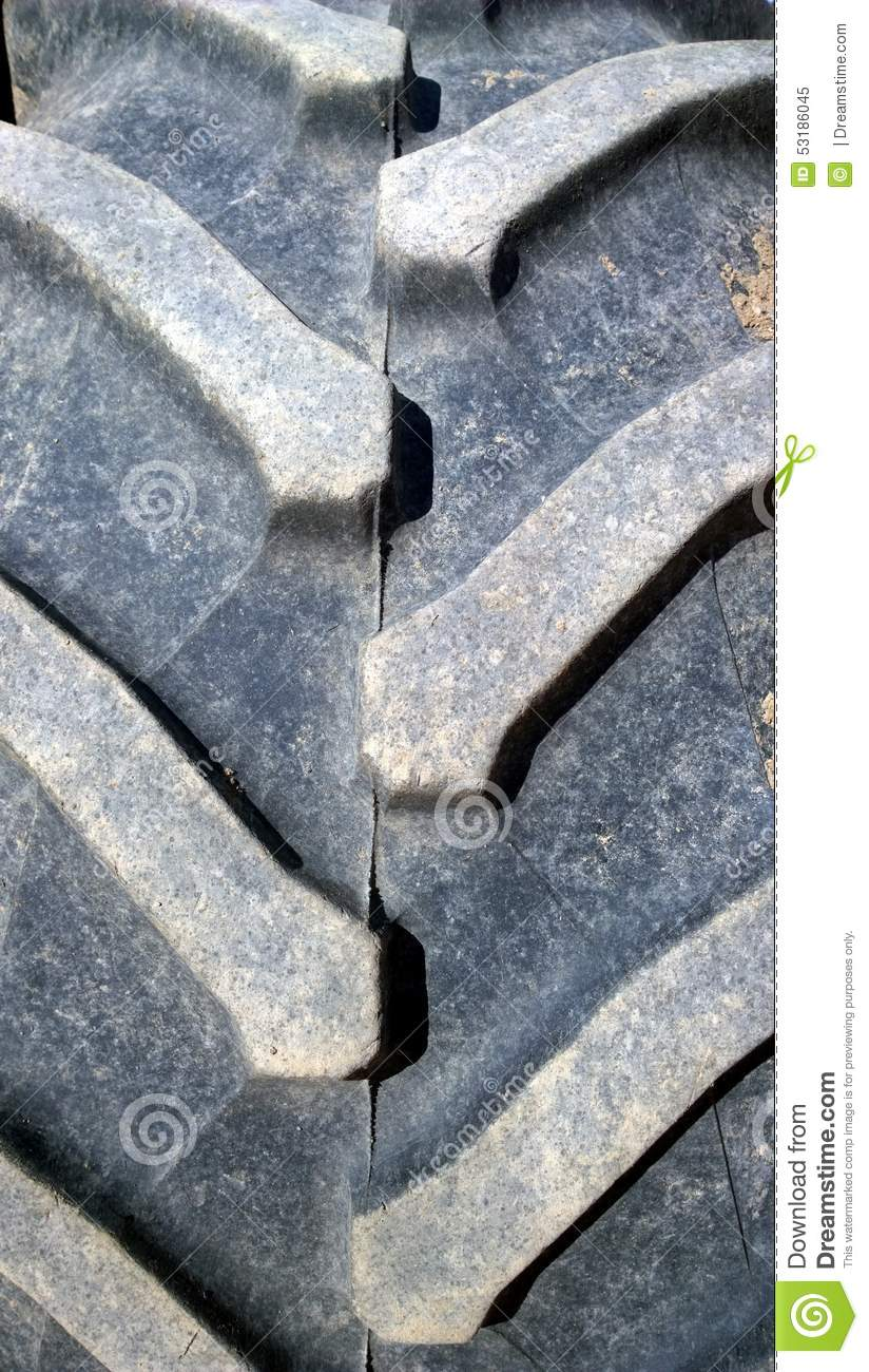 Big tractor rubber tire royalty free stock image for Big tractor tires for free