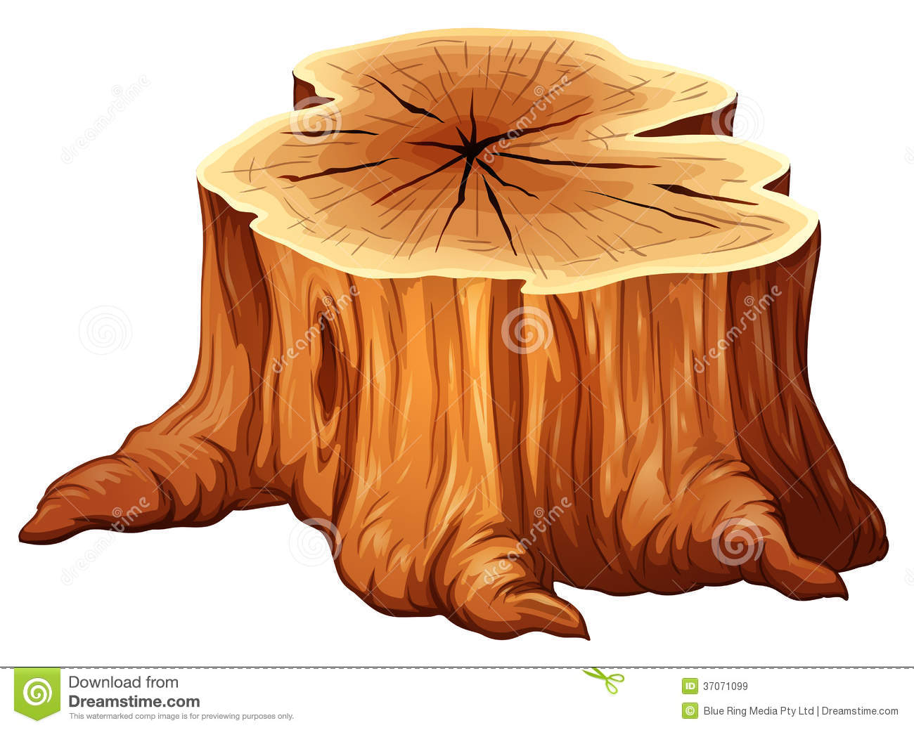 A Big Tree Stump Royalty Free Stock Images Image 37071099