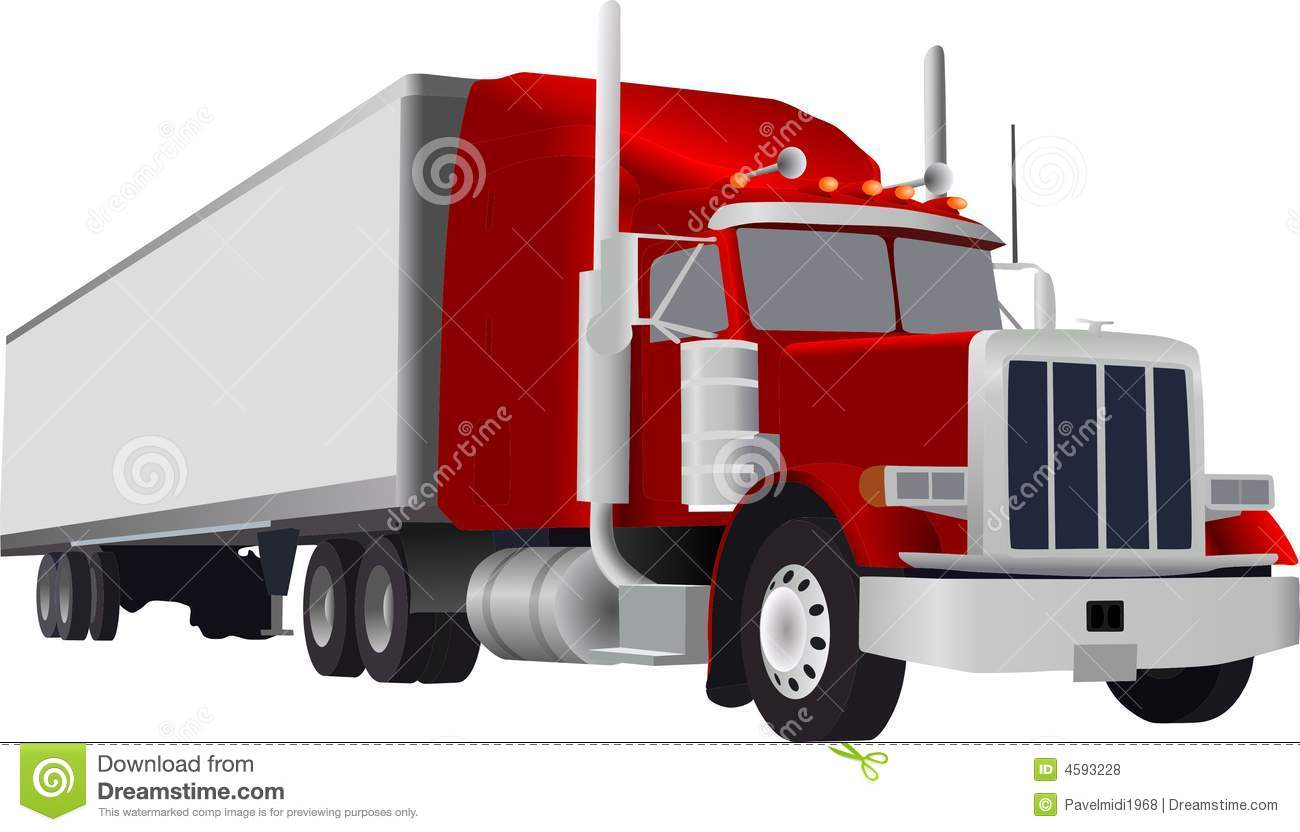 Big Truck Royalty Free Stock Photos - Image: 4593228
