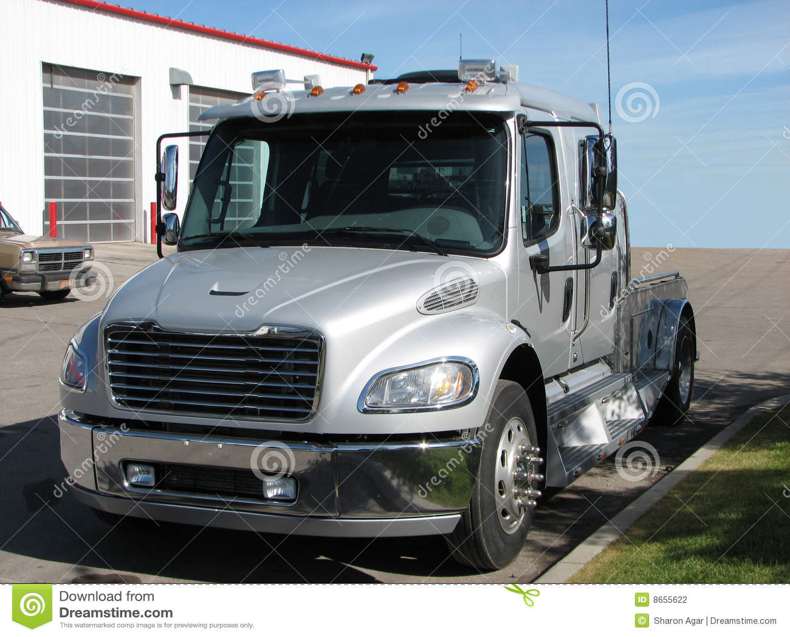 Big Truck Crew Cab 1 Stock Photography - Image: 8655622