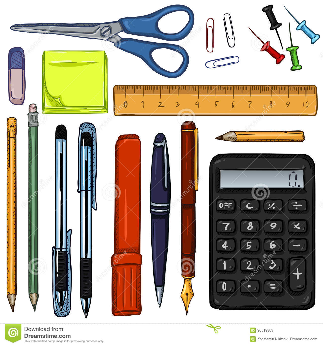 school and office supplies business plan