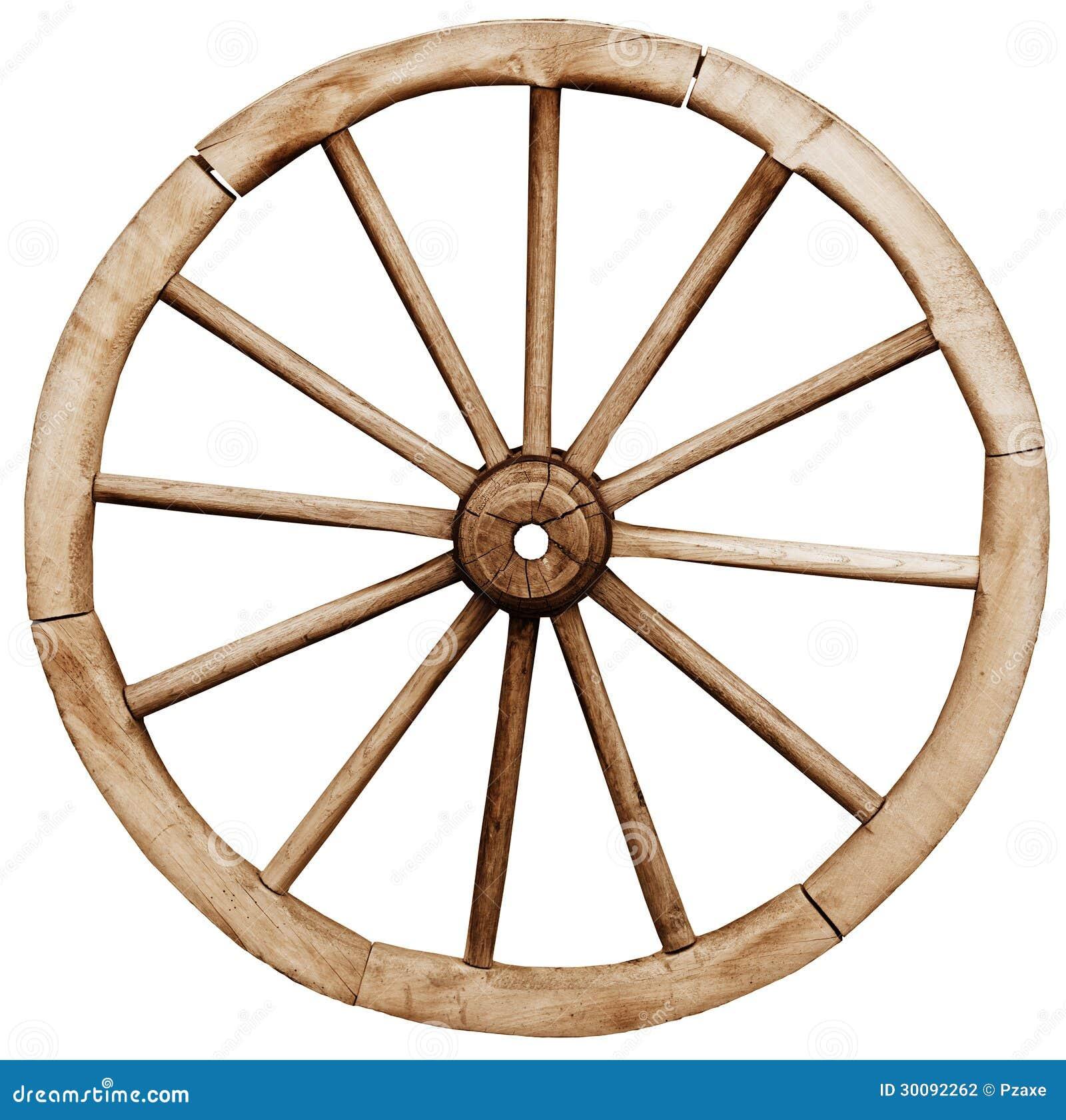 Big Vintage Rustic Wagon Wheel Stock Photo - Image of ...