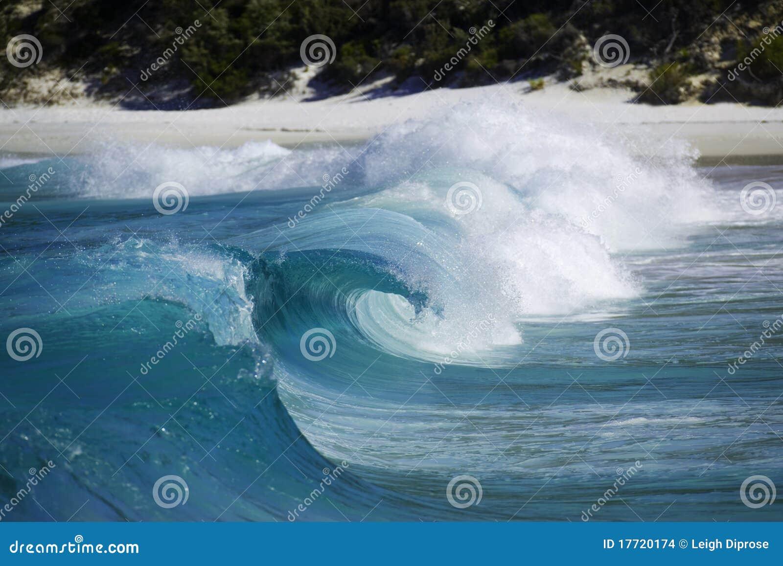 Download Big waves stock photo. Image of breaking, waterside, oceanside - 17720174