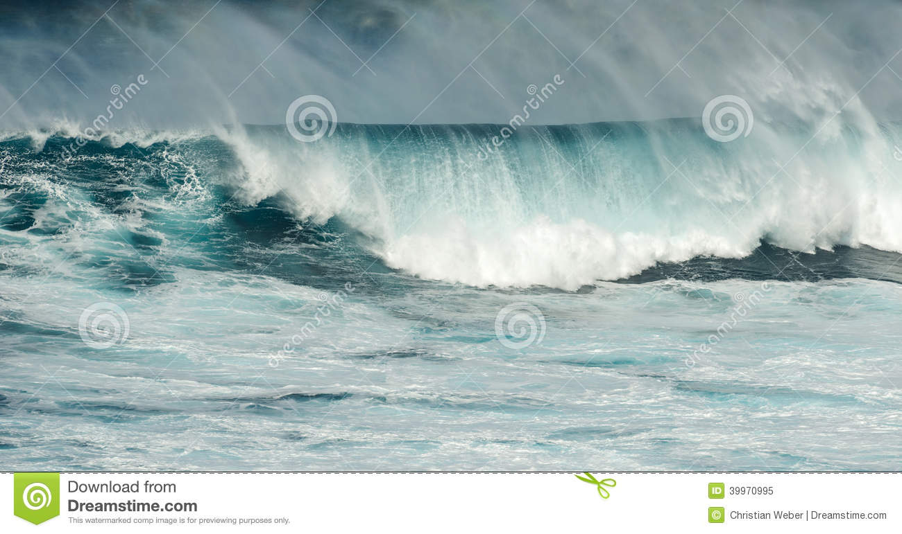Big Waves Jaws Maui Hawaii Stock Photo Image 39970995