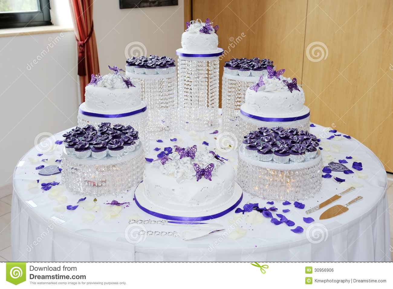 Big Wedding Cake Royalty Free Stock Image Image