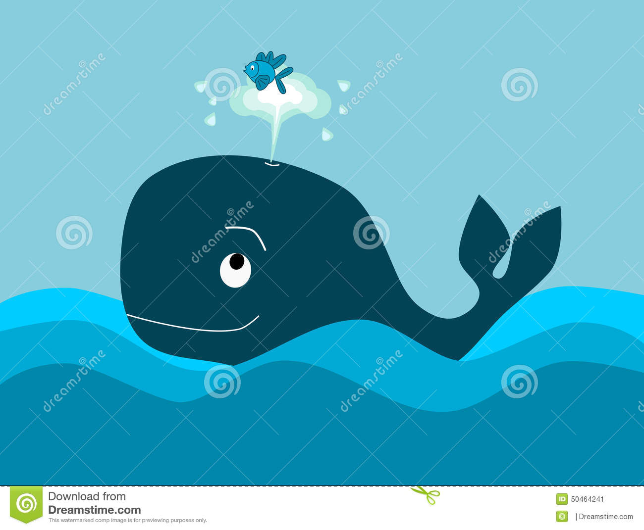 The big whale and the little fish stock illustration illustration download the big whale and the little fish stock illustration illustration of swimming design publicscrutiny Image collections