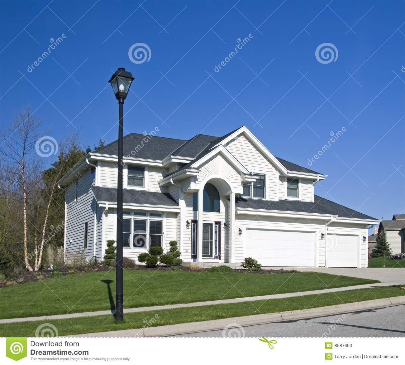 Big White House Stock Photos Image 8587603 Make Your Own Beautiful  HD Wallpapers, Images Over 1000+ [ralydesign.ml]