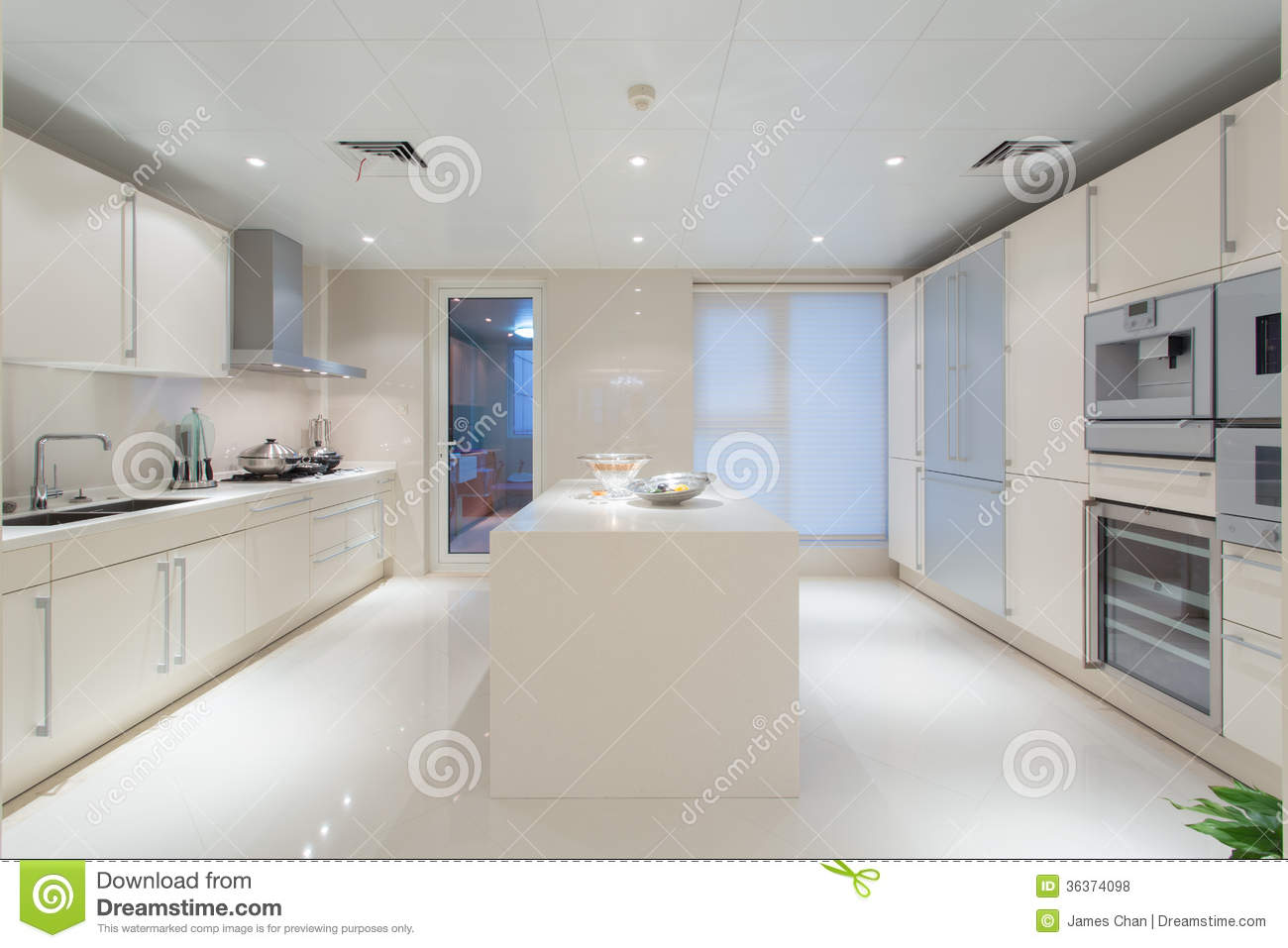 Modern Kitchen Royalty Free Stock Photos Image 36374098