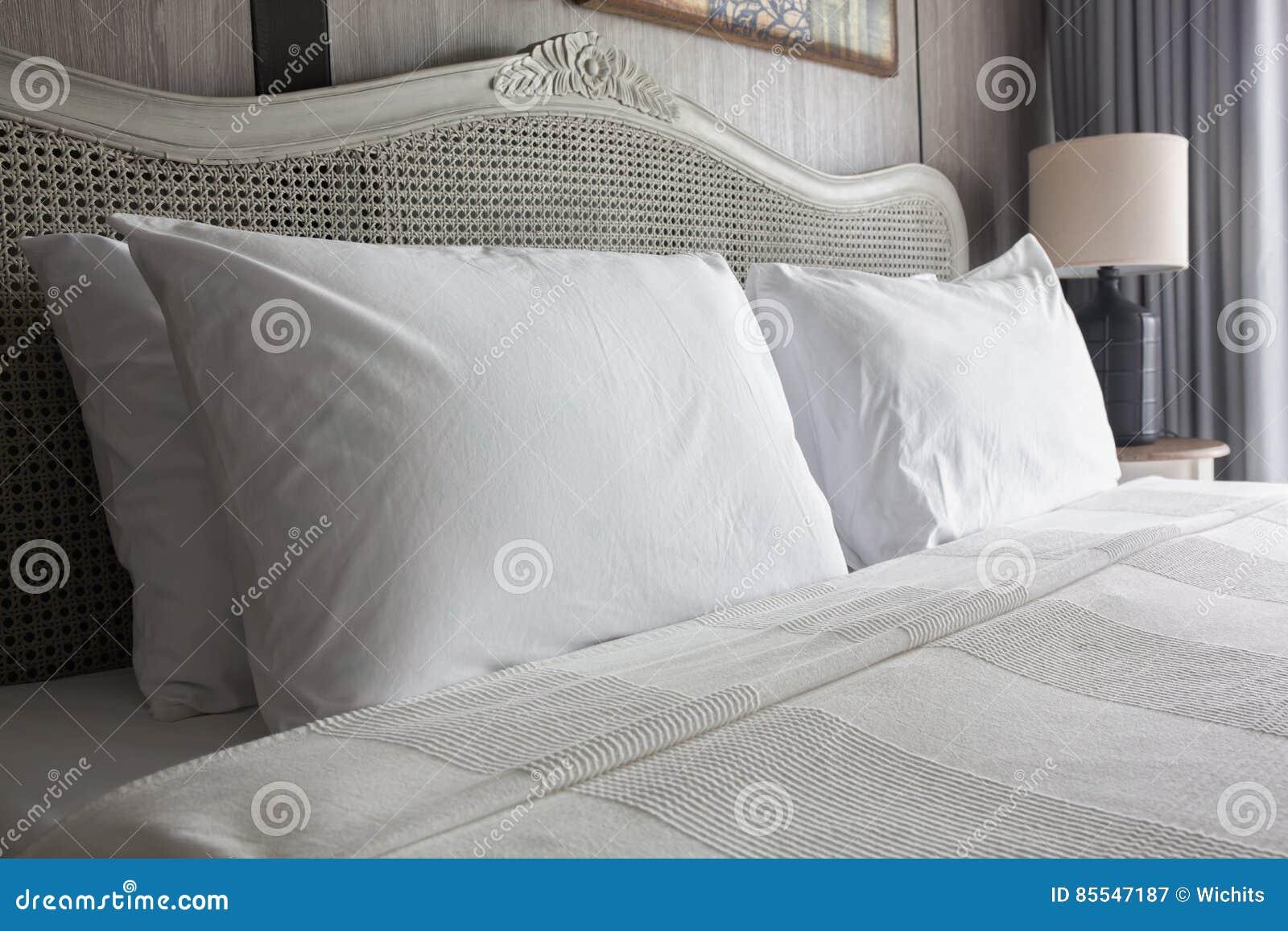 Big white pillows