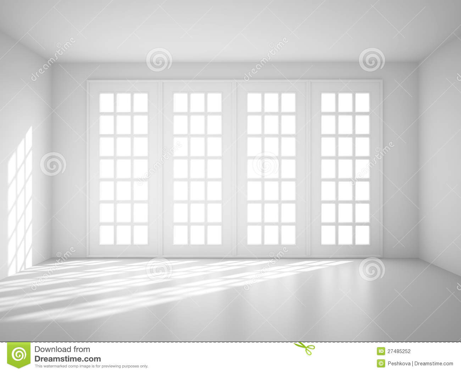 Big white room.